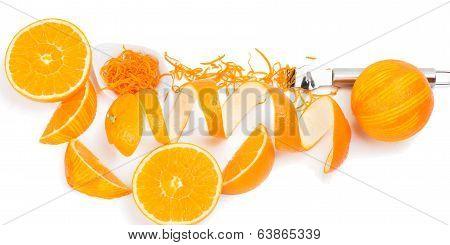 Zesting A Orange