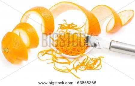 Zest And Peel Of Orange