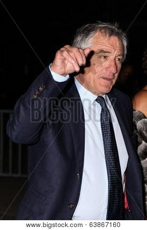 NEW YORK, NY - APRIL 23: Robert De Niro attend Vanity Fair Party for the 2013 Tribeca Film Festival on April 23, 2014 in New York City