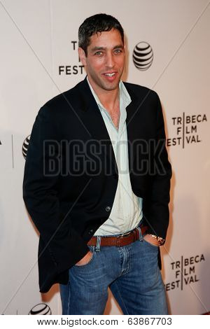 NEW YORK-APR 22: Nick Loeb attends the premiere of