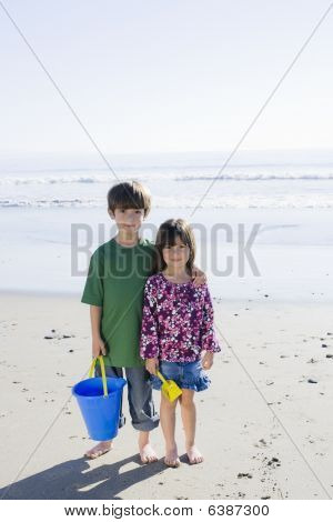 Children At Beach