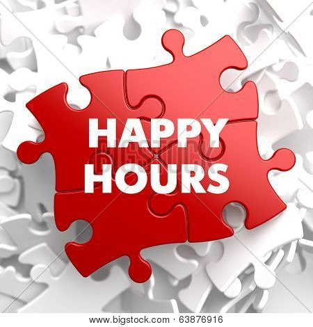 Happy Hours on Red Puzzle.