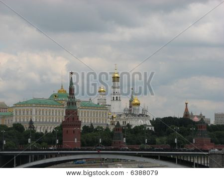 Russia Moskow The Kremlin