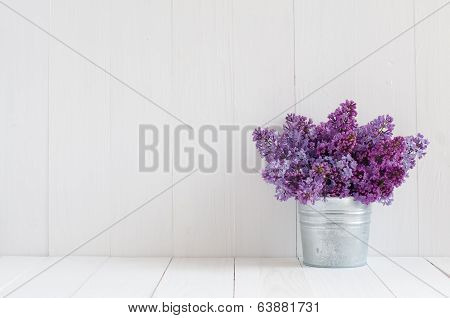 Flowers Of Lilac poster