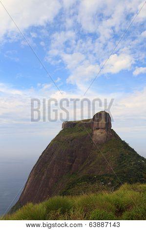 Mountain Pedra Da Gávea, Rio De Janeiro, Vertical