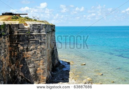 Blue Waters By The Fort