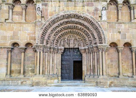 Romanesque Church Of Santo Domingo In Soria
