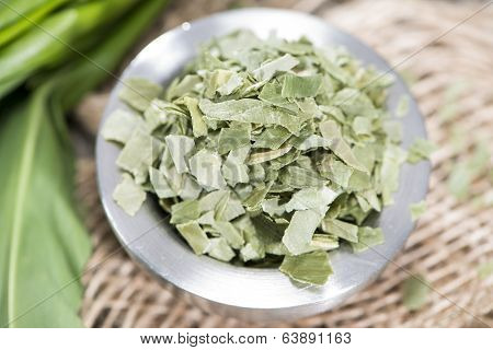Kibbled Ramson In A Bowl
