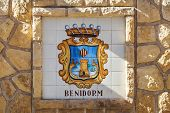 picture of costa blanca  - Crest for Benidorm Costa Blanca Spain  - JPG