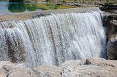 Cijevna falls near Podgorica in Montenegro  poster
