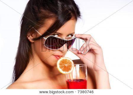 Drnking Juice