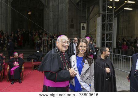 Bishop DiMarzo & Miss USA, Nia Sanchez