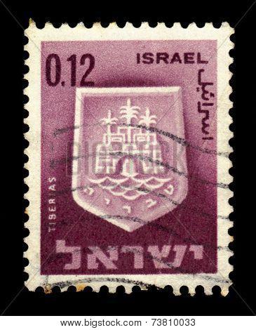 Coat Of Arms Of Tiberias, Israel