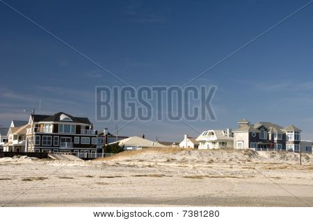 Beach View Of Houses