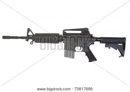 Carbine Isolated On A White Background