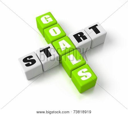 Start Defining Goals Green