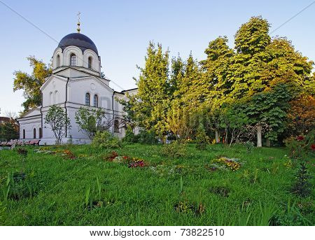Chapel And Churchyard In Conception Convent In Moscow