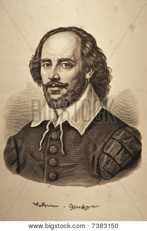 William Shakespeare Portrait
