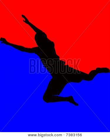 Man, Jump In Top, Athlete