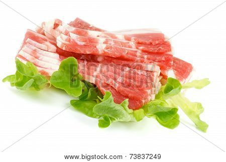Raw Bacon