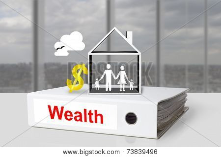 Office Binder Wealth Family House