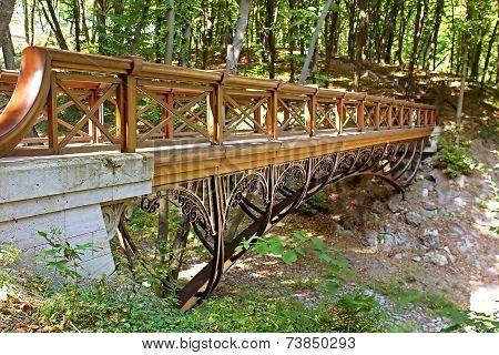 Bridge in Mezhyhirya - Former Private Residence Of Ex-president Yanukovich