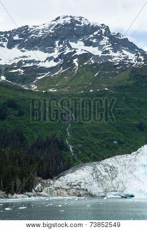 Lush Glacier Landscape