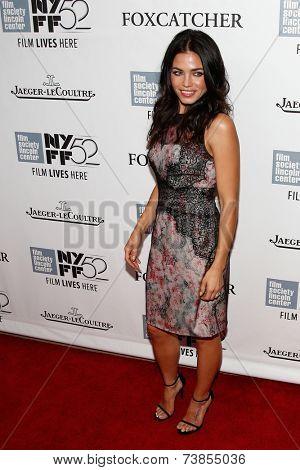NEW YORK-OCT 10: Actress Jenna Dewan Tatum attends the