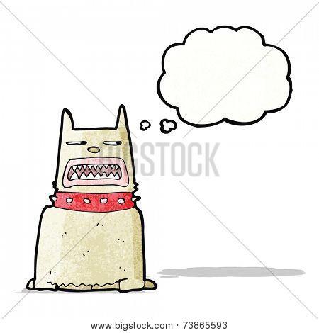 cartoon guard dog