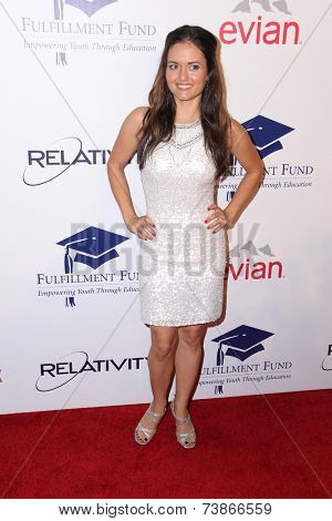 LOS ANGELES - OCT 14:  Danica McKellar at the Fulfillment Fund Stars Benefit Gala 2014 at Beverly Hilton Hotel on October 14, 2014 in Beverly Hills, CA
