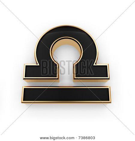 Libra Zodiac Symbol Icon