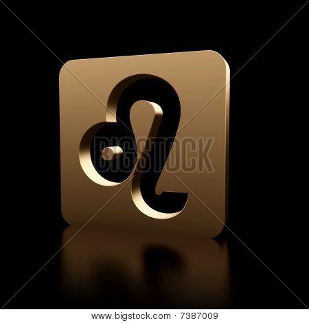 Leo Zodiac Symbol Icon