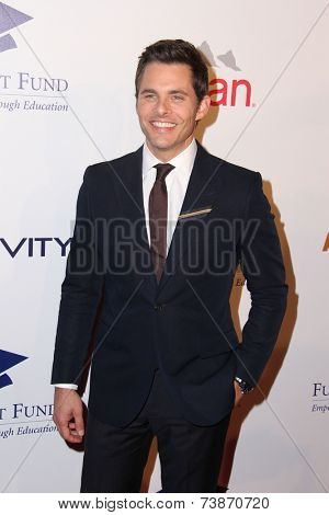 LOS ANGELES - OCT 14:  James Marsden at the Fulfillment Fund Stars Benefit Gala 2014 at Beverly Hilton Hotel on October 14, 2014 in Beverly Hills, CA