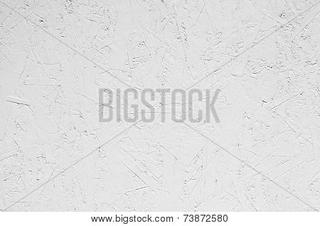 White Grungy Painted Wooden Plywood Wall