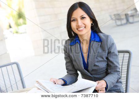 Pretty Business-Frau