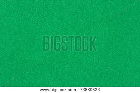 Green woolen baize