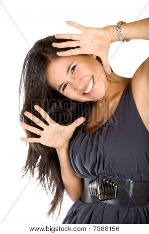 Fun Woman Smiling
