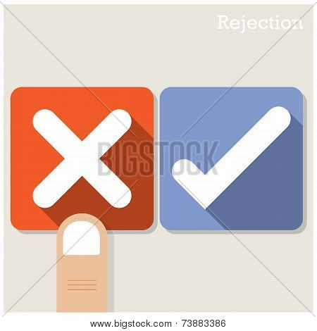 Rejection Concept