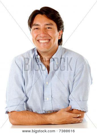Male Portrait Smiling