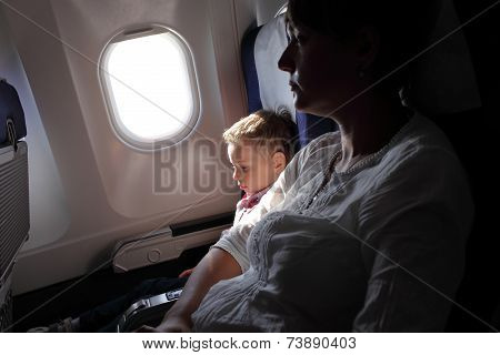 Family On The Flight