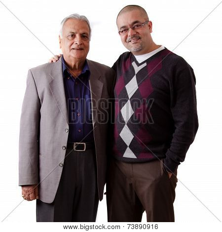 Indian Father And Son