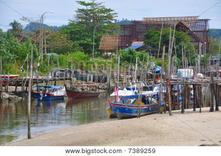 Malaysian Fishing Village