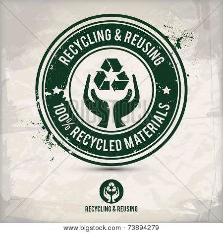 Recycling And Reusing Icon