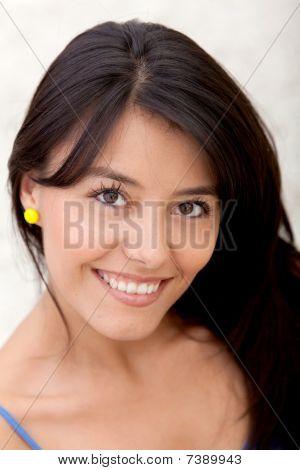 Woman Portrait Smiling