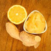 picture of rhizomes  - Time for make ginger tea - JPG