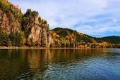 picture of siberia  - Rock the Siberian river - JPG