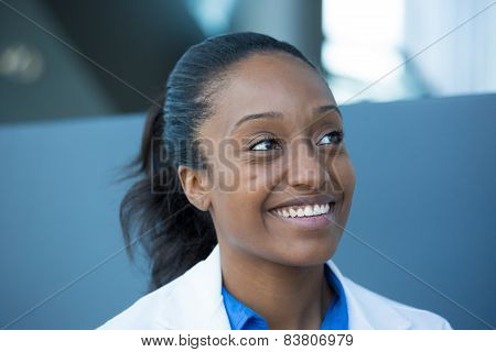 Smiling Healthcare Professional