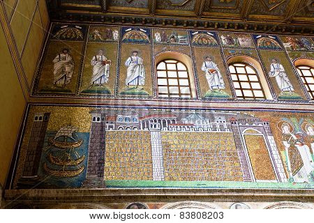 Ravenna Mosaics Of Saint Apollinare Nuovo