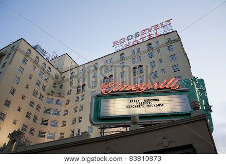 Roosevelt Hotel, Hollywood, California