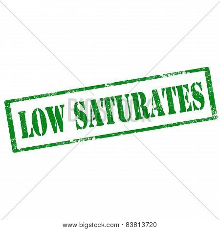 Low Saturates-stamp
